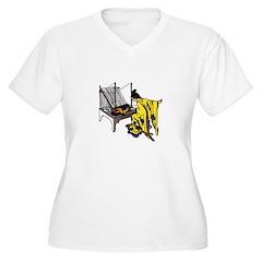 Woman at Weaving Loom T-Shirt