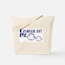 Charlie Bit Me Tote Bag