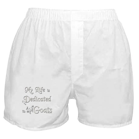 Dedicated to Goats Boxer Shorts