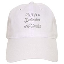 Dedicated to Goats Baseball Baseball Cap