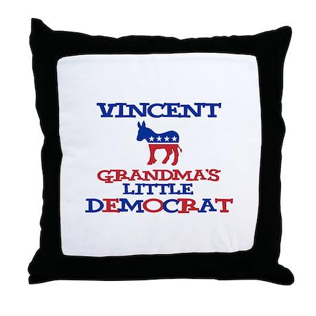 Vincent - Grandma's Little De Throw Pillow
