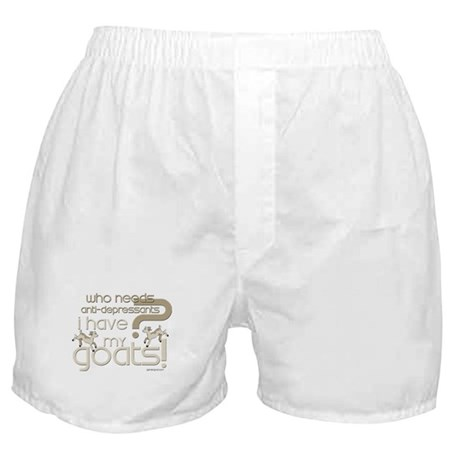 Goat Therapy Boxer Shorts