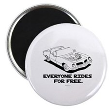 Everyone rides for free ~ Magnet