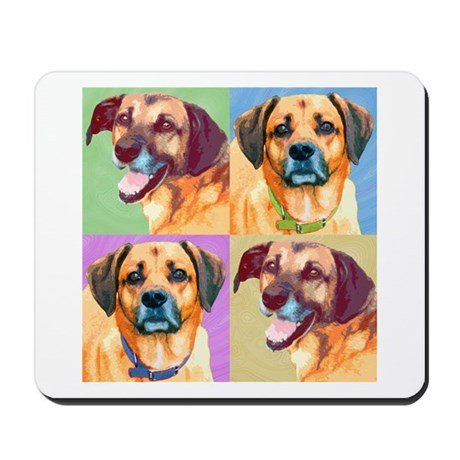 Handsome Hounds Mousepad