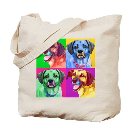 Handsome Hounds Tote Bag