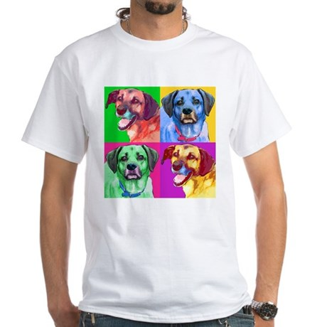 Handsome Hounds White T-Shirt