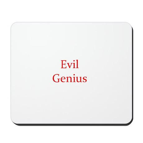 Evil Genius Mousepad