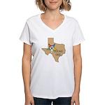 OES Texas Women's V-Neck T-Shirt
