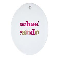 Rachael's Grandma Oval Ornament