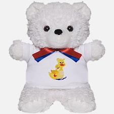 Duck Family Teddy Bear