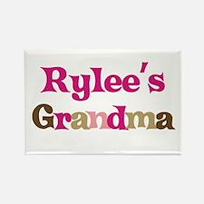 Rylee's Grandma Rectangle Magnet