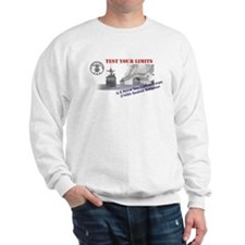 2745th Sweatshirt - Front & Back Images