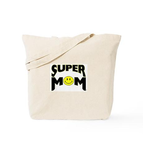 """SUPER MOM"" Tote Bag"
