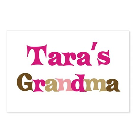 Tara's Grandma Postcards (Package of 8)