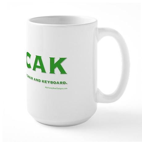 PEBCAK Large Mug