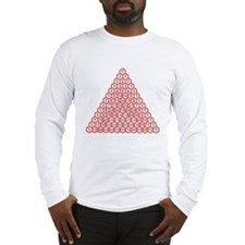 Pascal's Triangle Long Sleeve T-Shirt