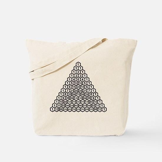 Pascal's Triangle Tote Bag