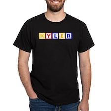KYLER (primary squares) T-Shirt