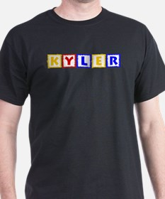 KYLER (primary squares) T-Shirt