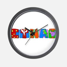 ETHAN (birds) Wall Clock