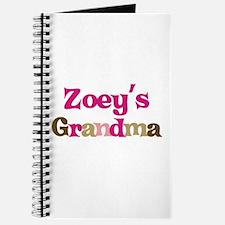 Zoey's Grandma Journal