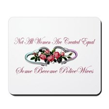 Become PoliceWives - Pink Ros Mousepad
