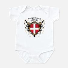Proud to be Danish Infant Bodysuit
