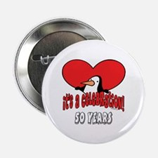 "50th Celebration 2.25"" Button"