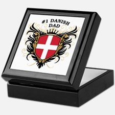 Number One Danish Dad Keepsake Box