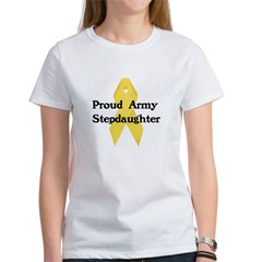 Proud Army Stepdaughter Tee