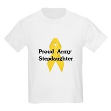 Proud Army Stepdaughter T-Shirt