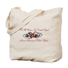 Become PoliceWives - Pink Ros Tote Bag