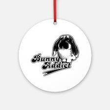Bunny Addict Keepsake (Round)