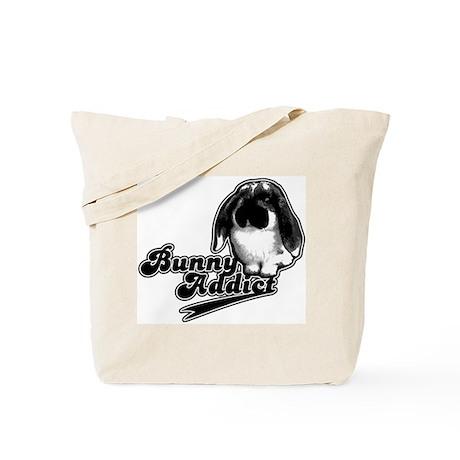 Bunny Addict Tote Bag