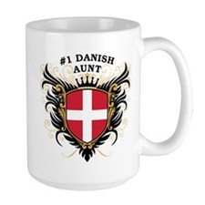 Number One Danish Aunt Mug