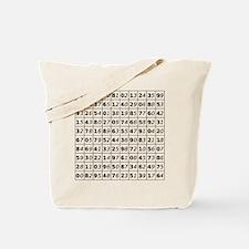 Euler Square Tote Bag