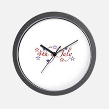 4th of July Wall Clock