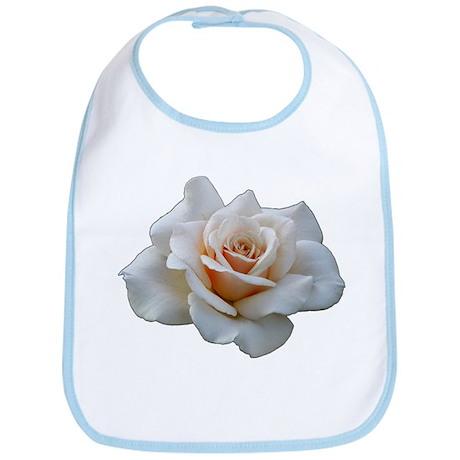 White Rose Bib