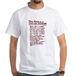 A Man's Business - White T-Shirt