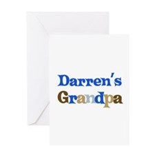 Darren's Grandpa Greeting Card