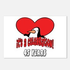 45th Celebration Postcards (Package of 8)