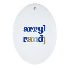 Darryl's Grandpa Oval Ornament