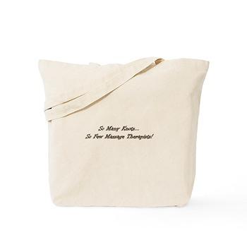 So Many Knots Tote Bag