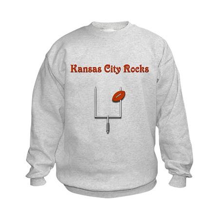 Kansas City Rocks Kids Sweatshirt