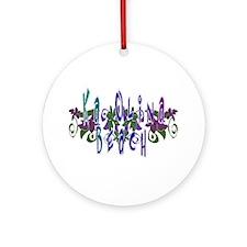 Ka Olina Beach Ornament (Round)