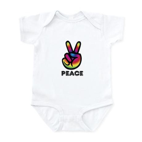 Peace Sign Infant Bodysuit