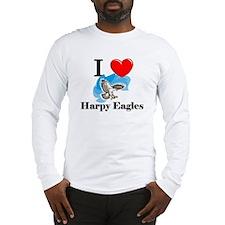 I Love Harpy Eagles Long Sleeve T-Shirt