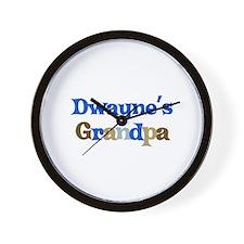 Dwayne's Grandpa Wall Clock