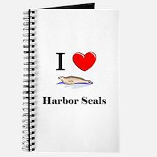 I Love Harbor Seals Journal