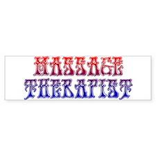 Massage Therapist 5 Bumper Bumper Sticker